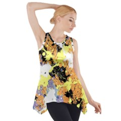 Abstract #10 Side Drop Tank Tunic