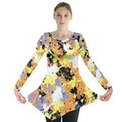 Abstract #10 Long Sleeve Tunic