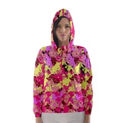 Abstract #11 Hooded Wind Breaker (Women)