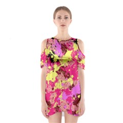 Abstract #11 Cutout Shoulder Dress