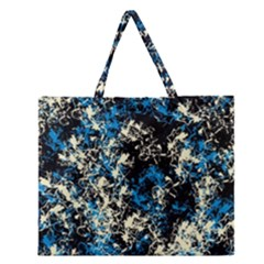 Abstract #15 Zipper Large Tote Bag