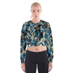 Abstract #15 Women s Cropped Sweatshirt