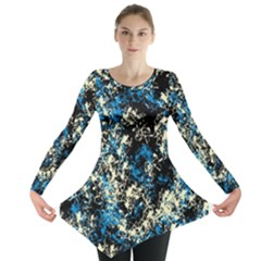 Abstract #15 Long Sleeve Tunic
