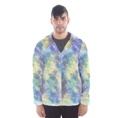 Abstract #17 Hooded Wind Breaker (Men)