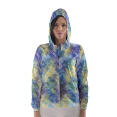 Abstract #17 Hooded Wind Breaker (women)