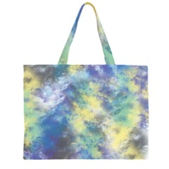 Abstract #17 Zipper Large Tote Bag