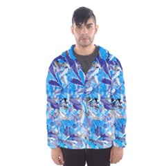 Abstract Floral Hooded Wind Breaker (Men)