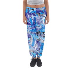 Abstract Floral Women s Jogger Sweatpants