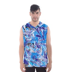 Abstract Floral Men s Basketball Tank Top