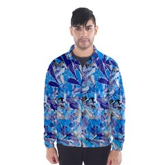 Abstract Floral Wind Breaker (men)