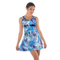 Abstract Floral Racerback Dresses