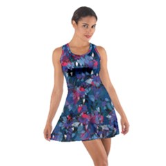 Abstract Floral #3 Racerback Dresses