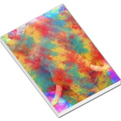 Abstract Elephant Large Memo Pads