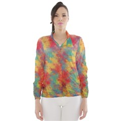 Abstract Elephant Wind Breaker (Women)