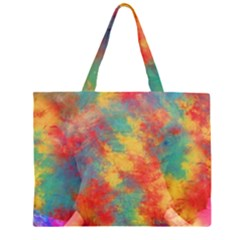 Abstract Elephant Large Tote Bag