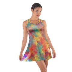 Abstract Elephant Racerback Dresses