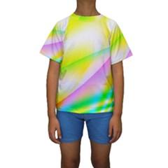 New 4 Kid s Short Sleeve Swimwear