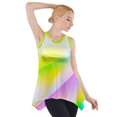 New 4 Side Drop Tank Tunic