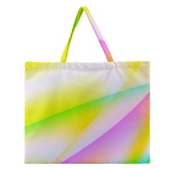 New 4 Zipper Large Tote Bag