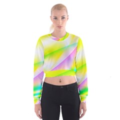 New 4 Women s Cropped Sweatshirt