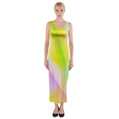 New 5 Fitted Maxi Dress