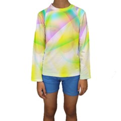 New 6 Kid s Long Sleeve Swimwear