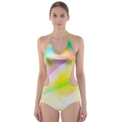 New 6 Cut Out One Piece Swimsuit