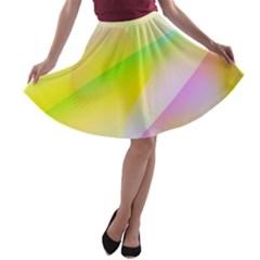 New 7 A Line Skater Skirt