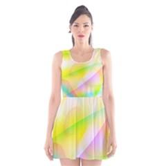New 7 Scoop Neck Skater Dress