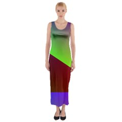 New 8 Fitted Maxi Dress