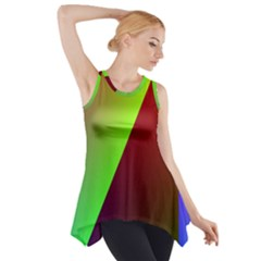 New 9 Side Drop Tank Tunic