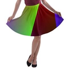 New 9 A-line Skater Skirt