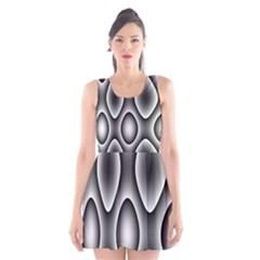 New 11 Scoop Neck Skater Dress