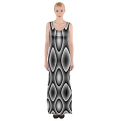 New 11 Maxi Thigh Split Dress