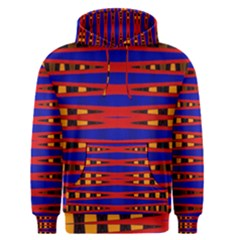 Bright Blue Red Yellow Mod Abstract Men s Pullover Hoodie