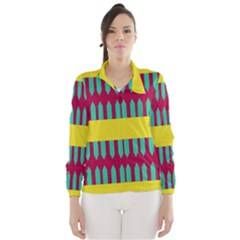 Stripes And Other Shapes   Wind Breaker (women)