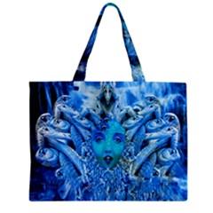 Medusa Metamorphosis Zipper Mini Tote Bag