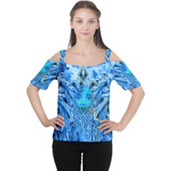 Medusa Metamorphosis Women s Cutout Shoulder Tee