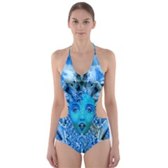Medusa Metamorphosis Cut-Out One Piece Swimsuit