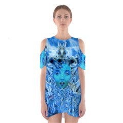 Medusa Metamorphosis Cutout Shoulder Dress