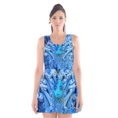 Medusa Metamorphosis Scoop Neck Skater Dress