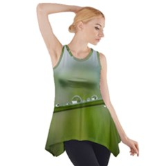 After The Rain Side Drop Tank Tunic