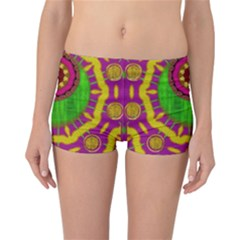 Let The Calm And The Sunshine In Reversible Boyleg Bikini Bottoms