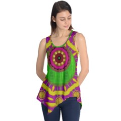 Let The Calm And The Sunshine In Sleeveless Tunic