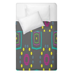 Squares And Circles Pattern  Duvet Cover (single Size)