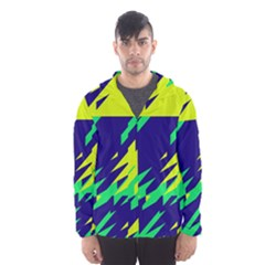 3 colors shapes    Mesh Lined Wind Breaker (Men)