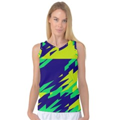 3 Colors Shapes    Women s Basketball Tank Top