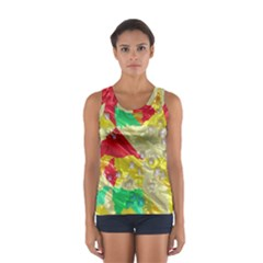 Colorful 3D texture   Women s Sport Tank Top