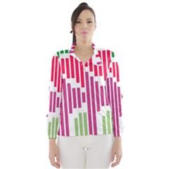 Vertical Stripes    Wind Breaker (women)