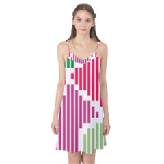Vertical Stripes    Camis Nightgown